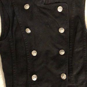 Dkny Jackets & Coats - DKNY Denim Military Vest